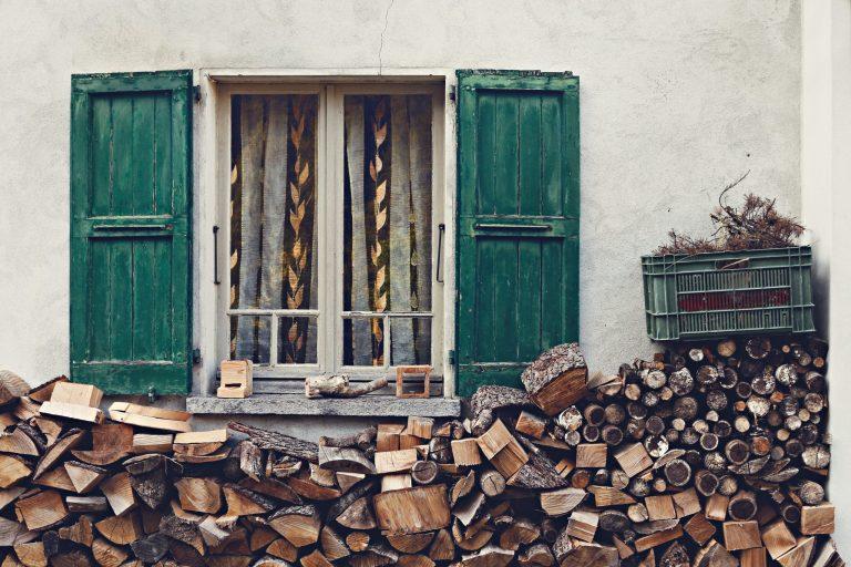 Termite inspection window wood
